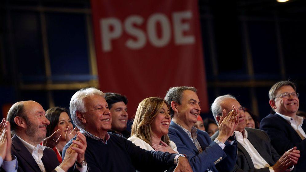 Foto: La presidenta de la Junta de Andalucía, Susana Díaz, durante el acto político donde se lanzó oficialmente a la carrera por liderar el PSOE. (Reuters)