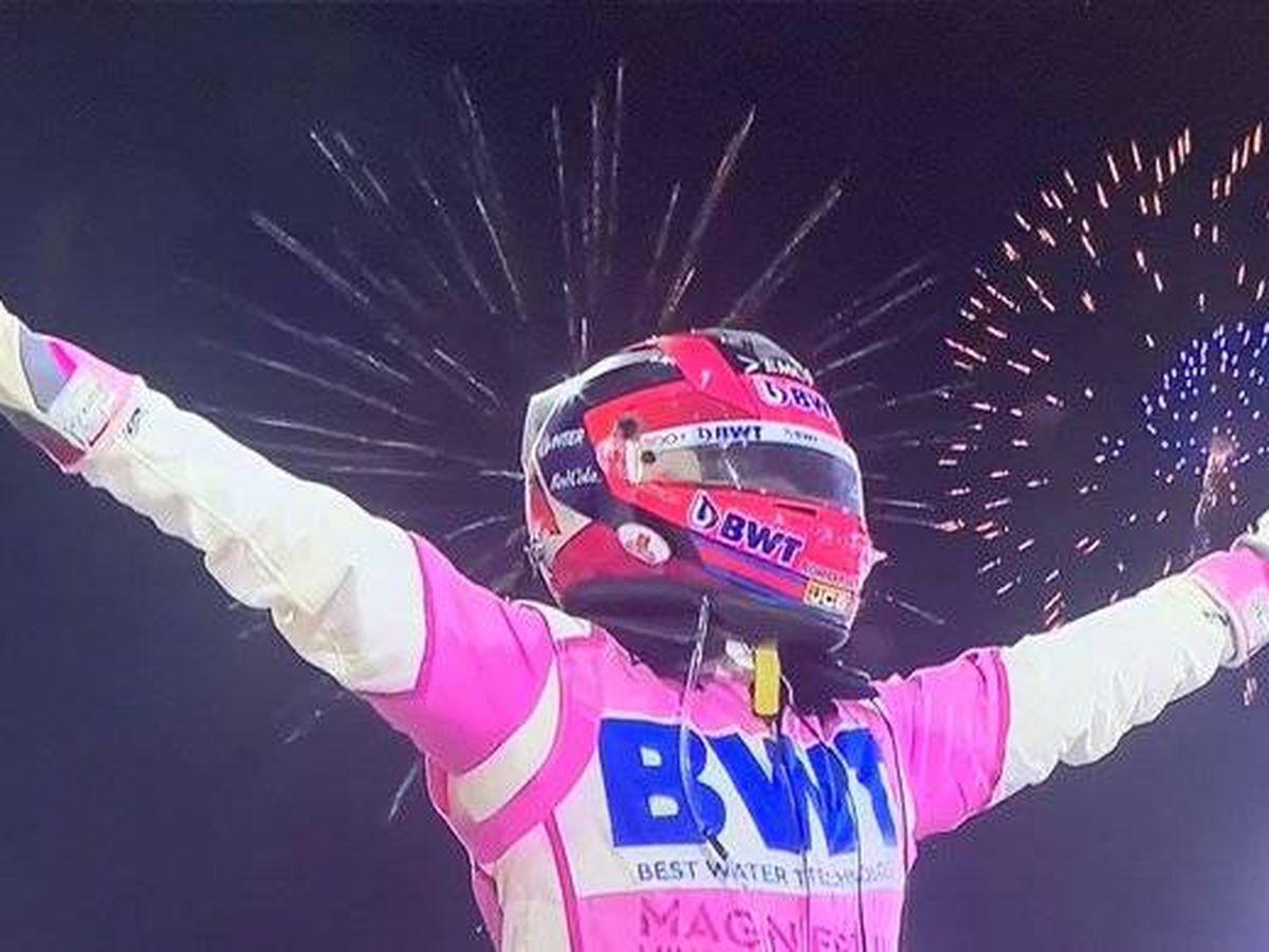 Foto: Checo Pérez logró con su décimo podio en la Fórmula 1 su primera victoria