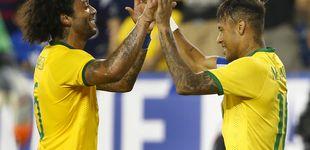 Post de Marcelo vuelve con Brasil y Neymar aprovecha la llamada para descansar