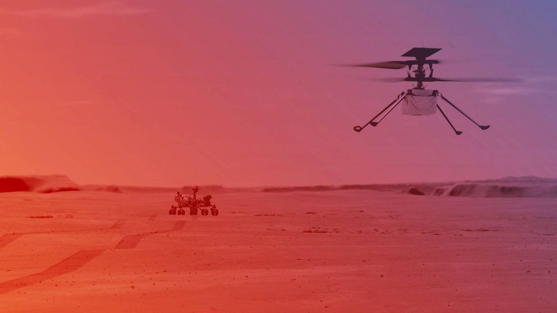 El Ingenuity vuela por 1ª vez en Marte: dónde y cómo ver la nueva hazaña de la NASA