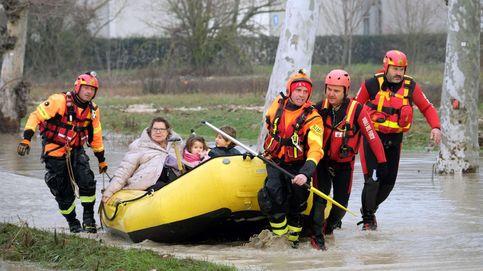 Evacuados en Italia tras el desbordamiento de un río