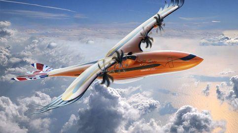 Esta es la última locura de Airbus: un avión con forma de halcón y motor híbrido