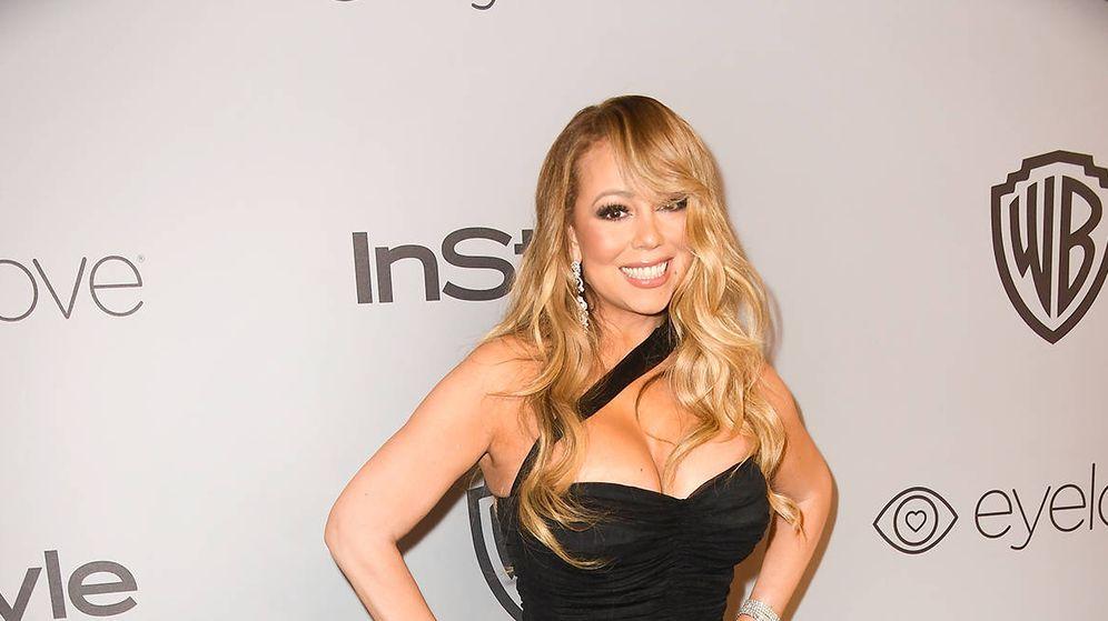 Foto:  Mariah Carey, en una presentación. (Getty)