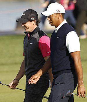 McIlroy y Tiger Woods decepcionan en el estreno de Abu Dhabi