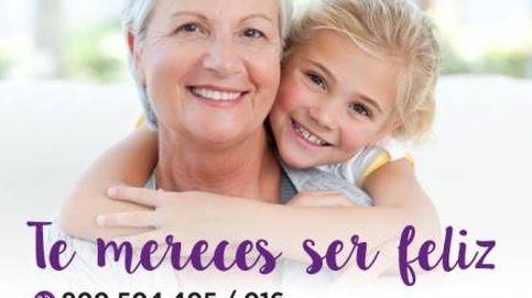 El PSOE también usó 'sonrisas' e imágenes de stock contra la violencia de género