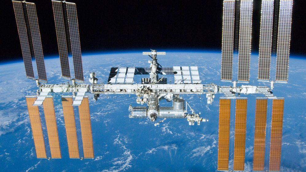 Foto: La Estación Espacial Internacional en 2010 (Foto: NASA)