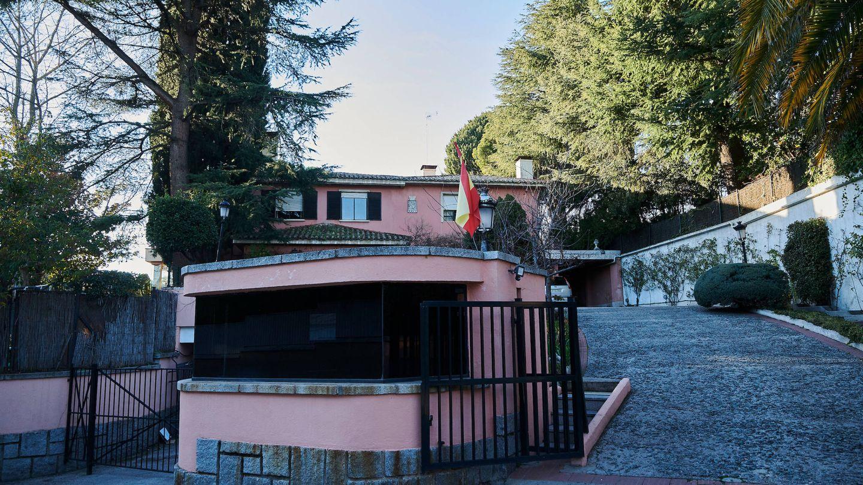 La casa de la infanta Pilar, en la zona de Puerta de Hierro. (Limited Pictures)