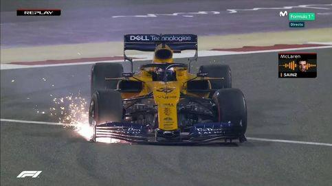 Fórmula 1 en directo: Carlos Sainz se toca con Verstappen y pierde todas las opciones