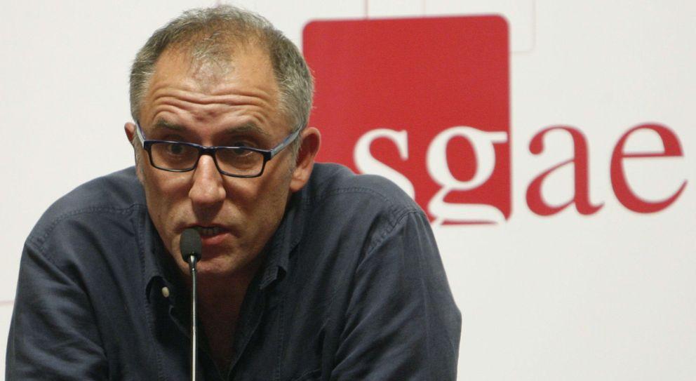 Foto: José Luis Acosta, recién elegido presidente de la SGAE, en julio de 2013. (EFE)