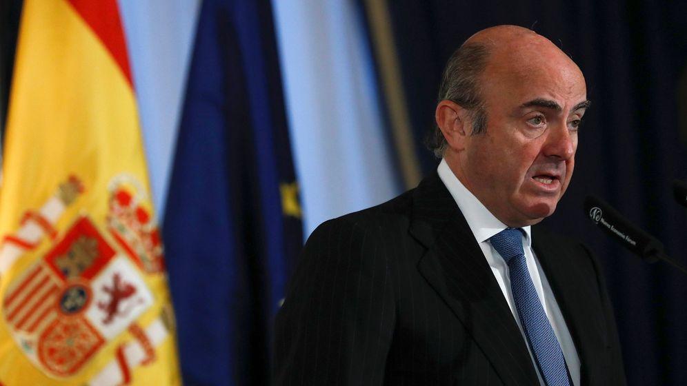 Foto: El ministro de Economía, Luis de Guindos