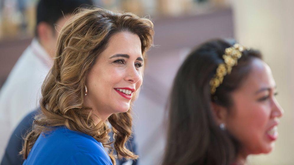 Foto: La princesa Haya de Jordania, en una imagen de archivo. (Getty)
