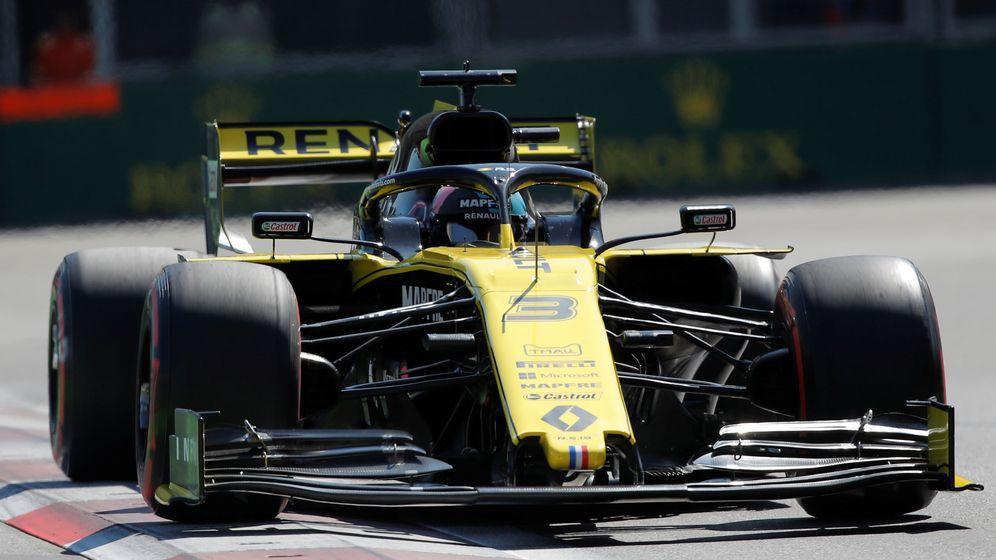 Foto: Renault no dio la talla (tampoco) en Bakú. (Reuters)