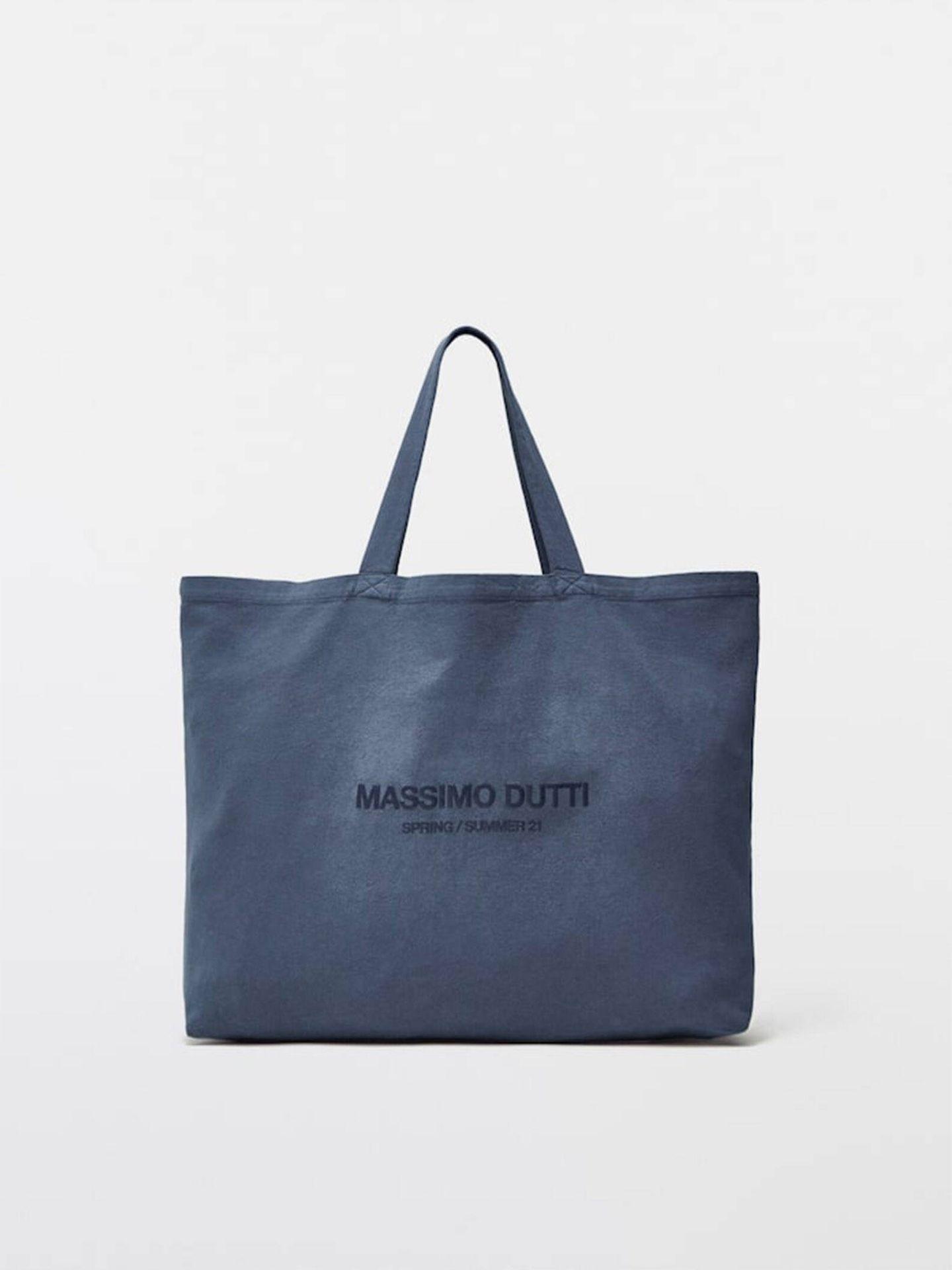 Bolso shopper de Massimo Dutti. (Cortesía)