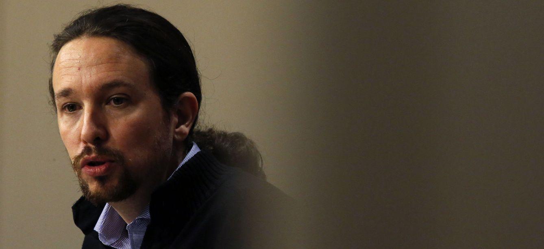 Pablo Iglesias, el pasado jueves en el Congreso. (EFE)
