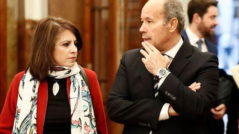 Campo defiende la revisión de la ley del 'sí es sí' y se reivindica feminista frente a Iglesias