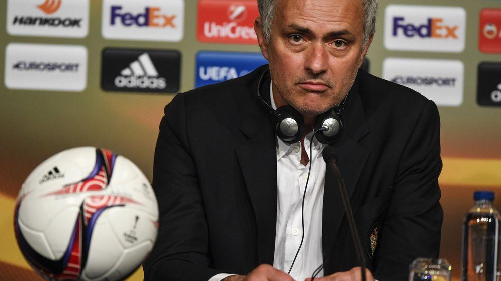 Foto: José Mourinho, ahora entrenador del Manchester United. (EFE)
