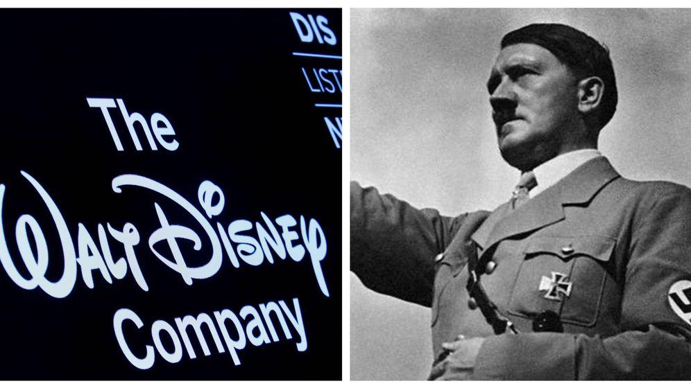 Foto: Disney y Hitler