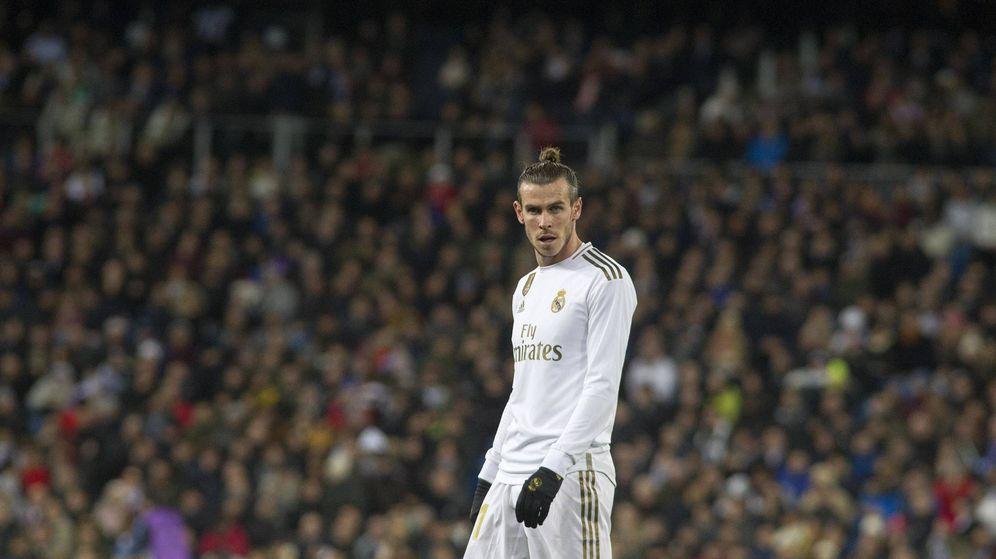 Foto: Gareth Bale, durante el partido del Real Madrid contra la Real Sociedad. (Miguel J. Berrocal))