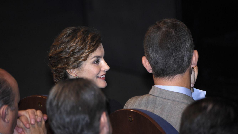 Foto: Don Felipe y Doña Letizia durante un acto.