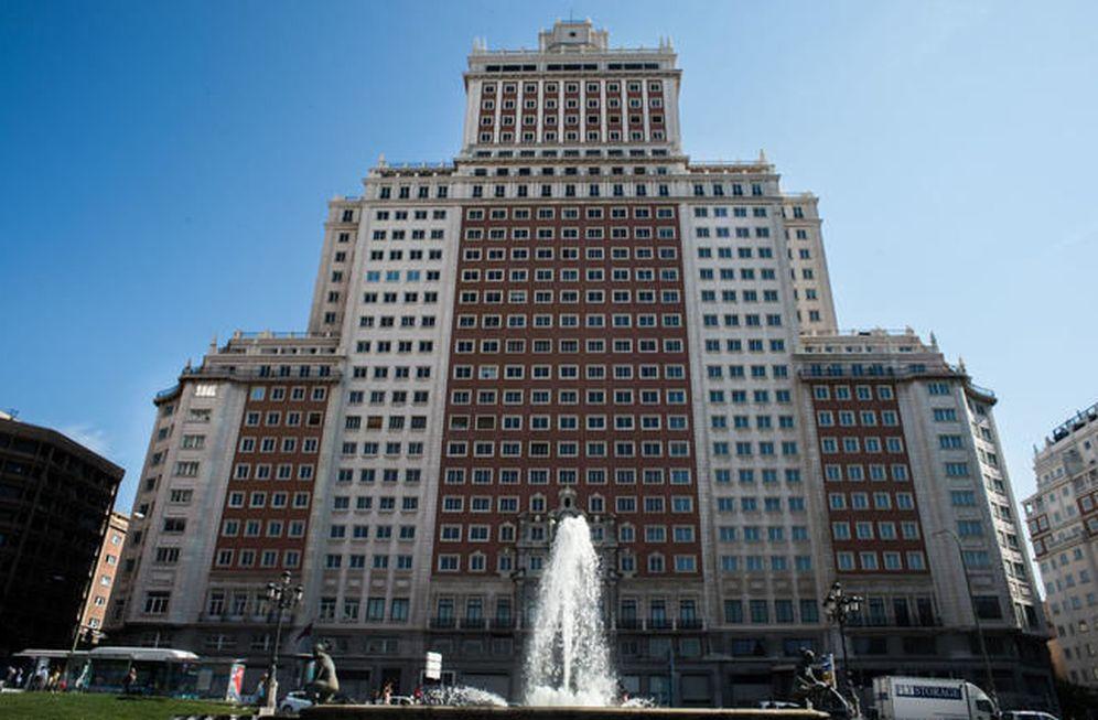 Foto: Edificio España de Madrid. (Daniel Muñoz)