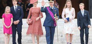 Post de Elisabeth de Bélgica eclipsa a sus padres en el Día de la Fiesta Nacional