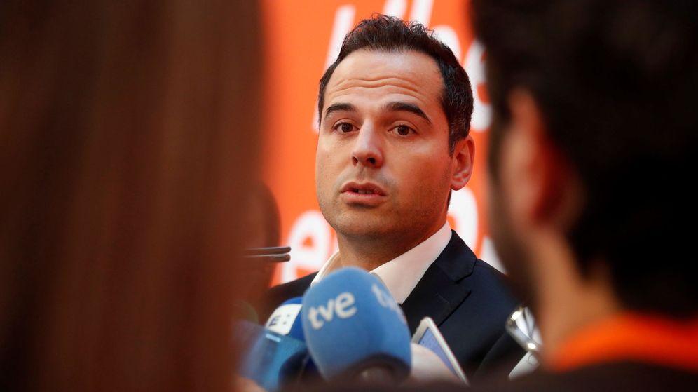 Foto: Ignacio Aguado, líder de Ciudadanos en Madrid. (EFE)