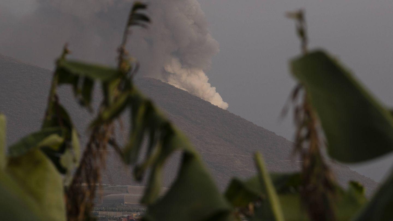 El volcán sigue en erupción. (Alejandro Martínez Vélez)