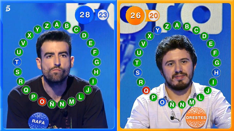 Duelo 41 y último entre Rafa Castaño y Orestes Barbero. (Mediaset)