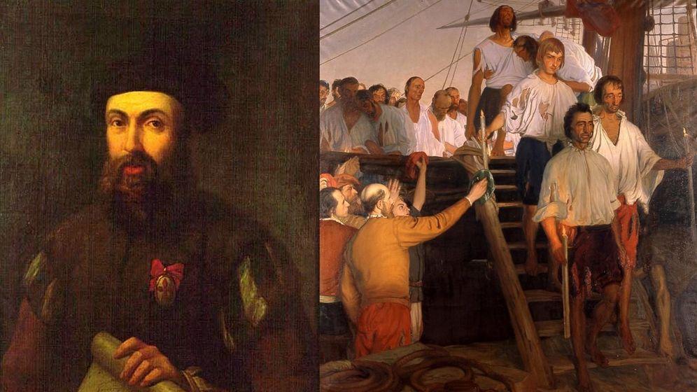 Foto: Gómez de Espinosa acompañó a Magallanes a bordo de La Trinidad. (iStock)