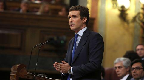 La réplica de Pablo Casado al discurso de Pedro Sánchez: Dos horas para no decir nada