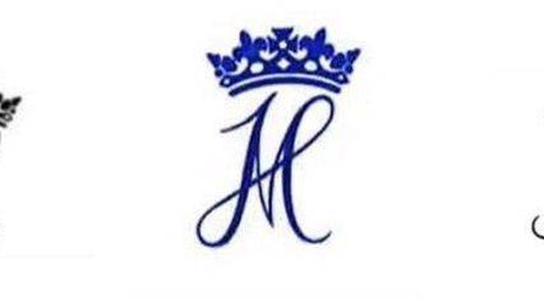 Monogramas individuales y conjunto de los Sussex. (Kensington Palace)