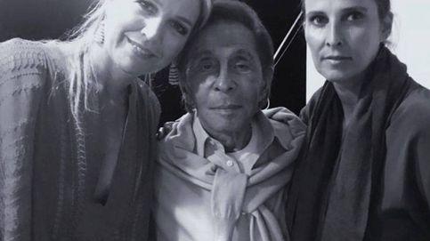 Valentino celebra su amistad con Máxima de Holanda y Rosario Nadal, sus musas