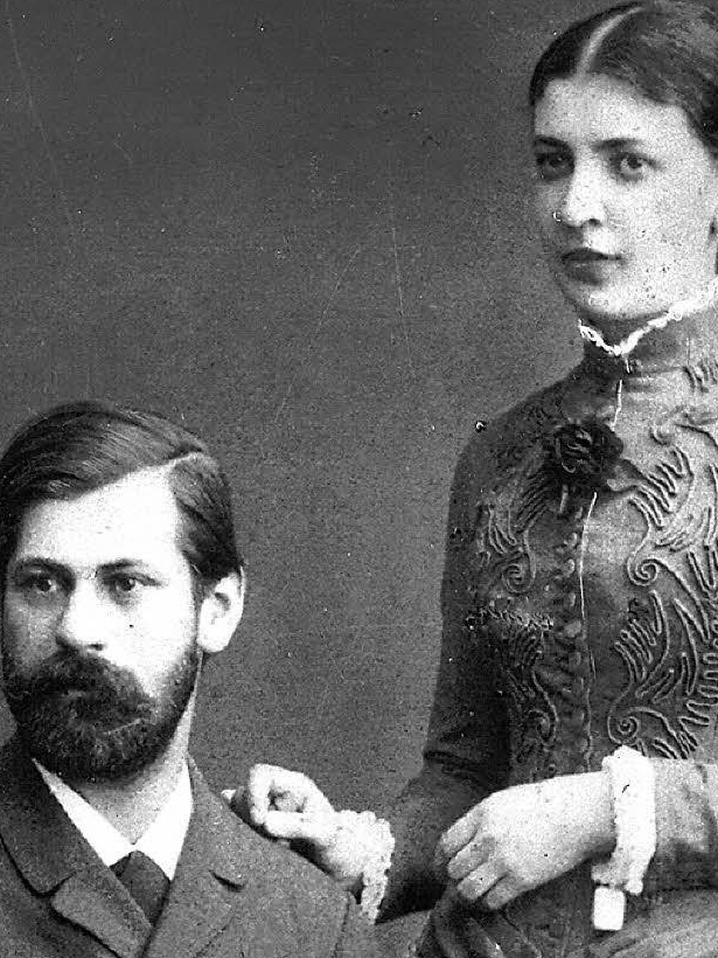 Sigmund y Martha Freud