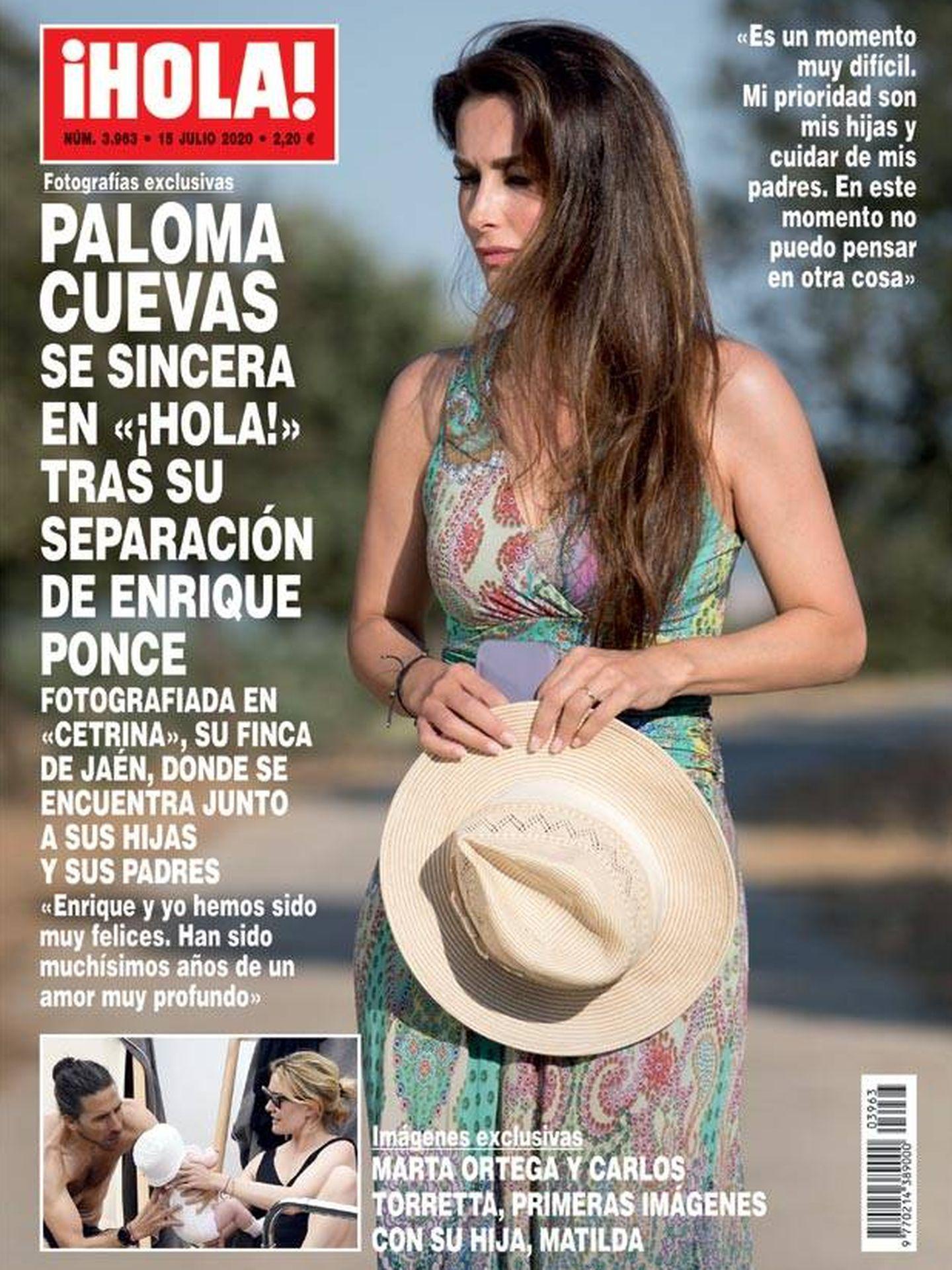 Portada de '¡Hola!' con Paloma Cuevas.