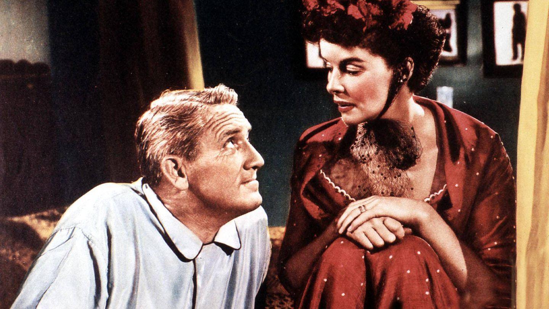 La pareja, en un fotograma publicitario de 'La costilla de Adán'. (Cordon Press)
