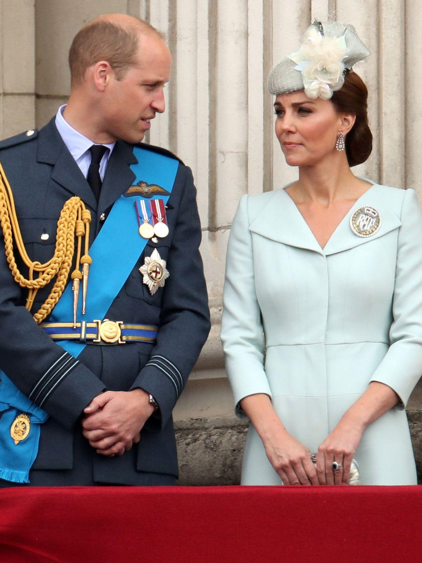 Los duques de Cambridge en 2018. (REUTERS)