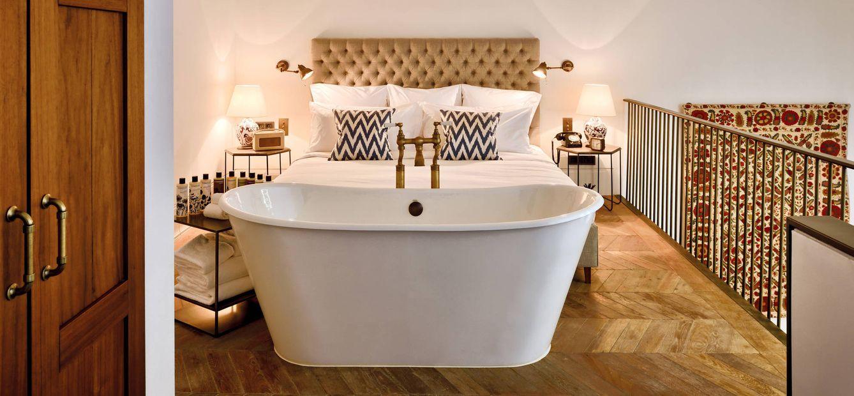 Foto: Así es una de las exclusivas habitaciones del hotel Soho House de Estambul (Foto: Sohohouse.com)