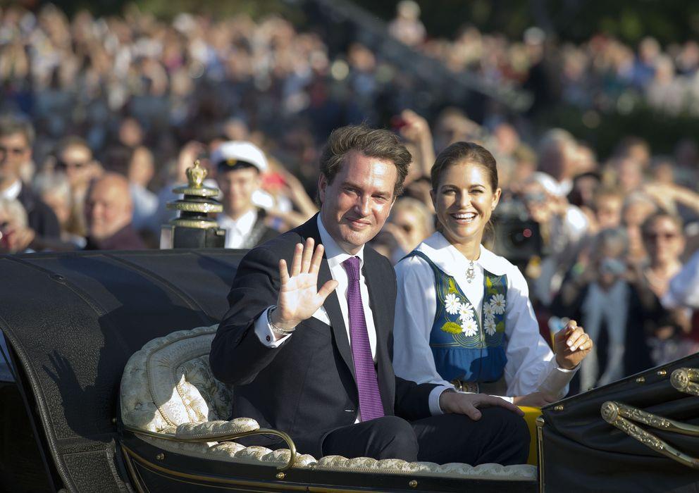 Foto: Magdalena de Suecia y su marido, Chris O'Neil, en una imagen de archivo (I.C.)