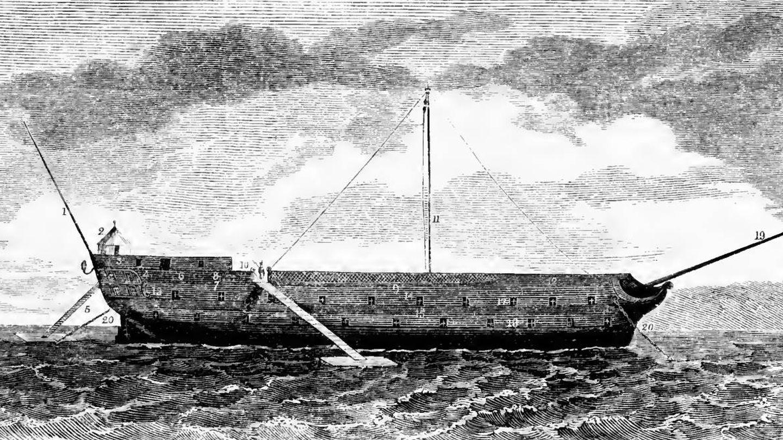 HMS Jersey. Foto: Wikipedia