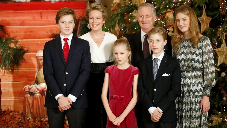 La familia real belga. (Reuters)
