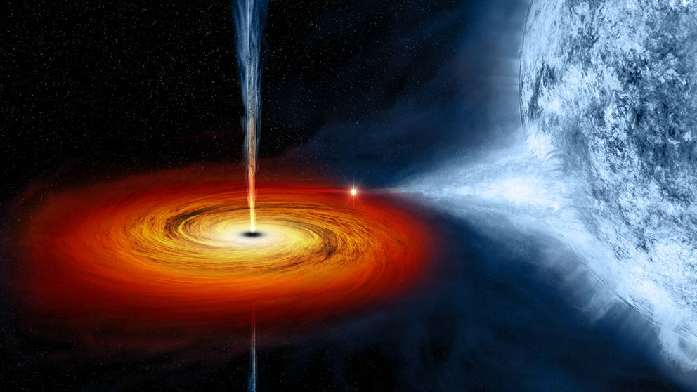 El objeto más luminoso del universo: un agujero negro desgarrando una estrella