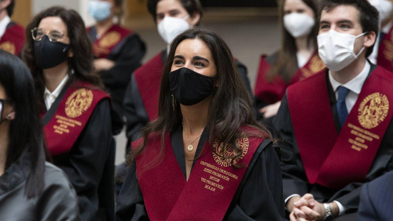 Estudiantes de Derecho de la Universidad de Navarra.