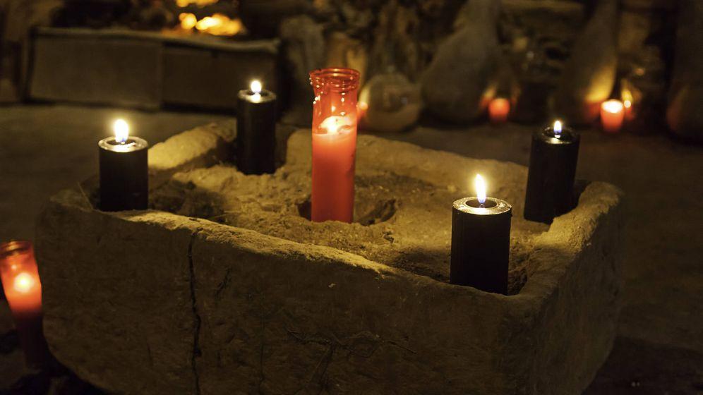 Foto: Preparativos para un ritual de magia. (iStock)