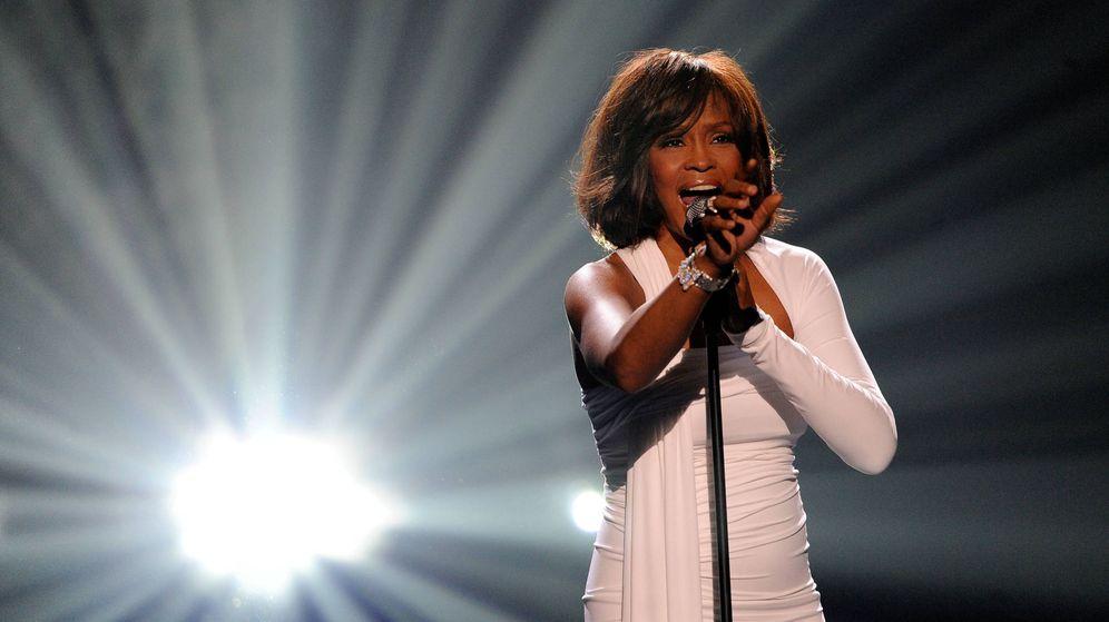 Foto: Whitney Houston, en una actuación en 2009. (Getty)