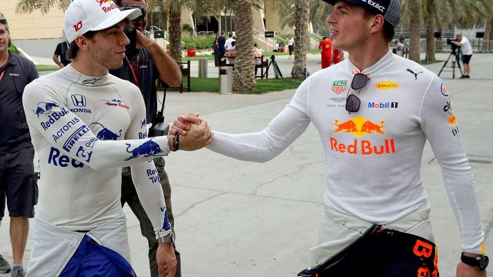 Por qué Verstappen se va a comer a su humillado compañero en Red Bull