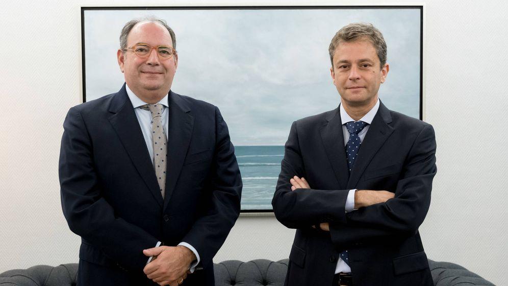 Foto: Rafael Valera, consejero delegado de Buy&Hold, y Julián Pascual, presidente de Buy&Hold
