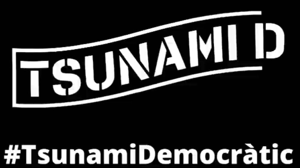 ¿Qué es Tsunami Democràtic, la plataforma que guía las movilizaciones en Cataluña?