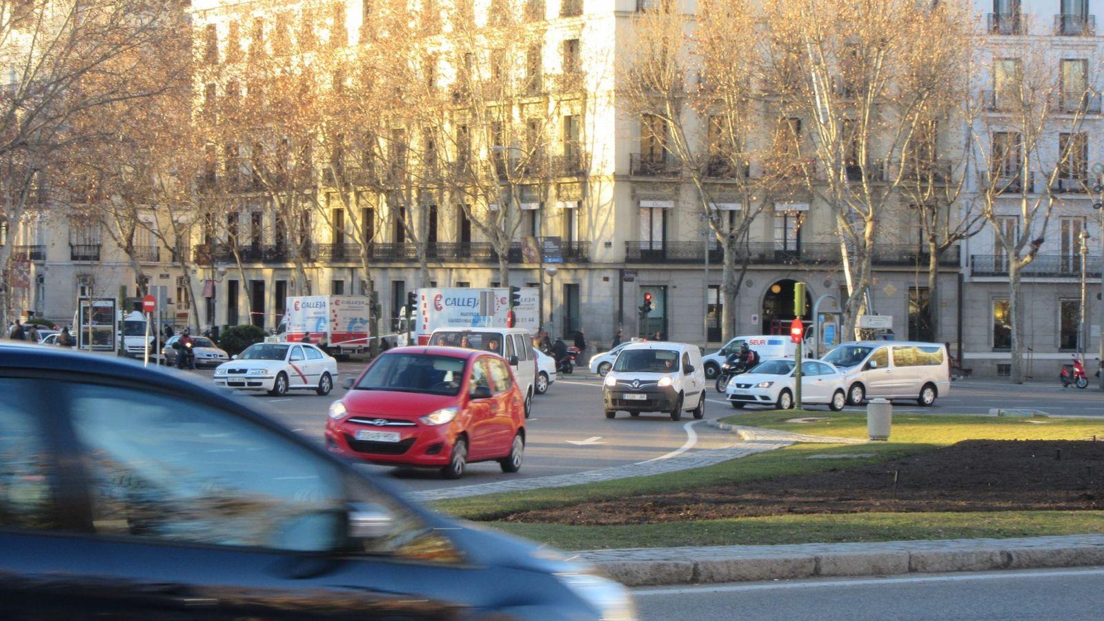 Foto: Tráfico en Madrid