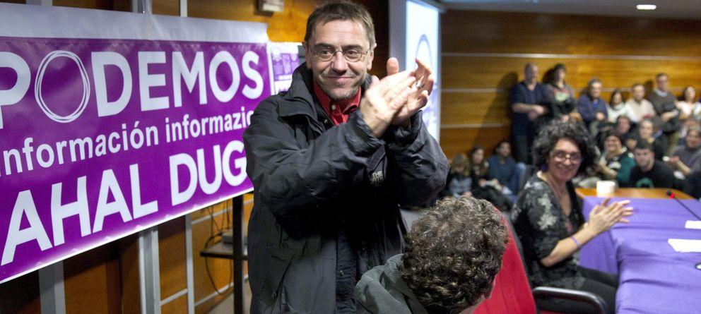 Foto: El secretario del Proceso Constituyente y Programa de Podemos (EFE)