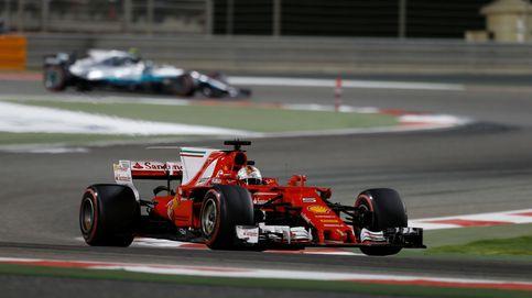 Mercedes se hace un lío y regala el triunfo a Vettel. Día horrible para Alonso y Sainz